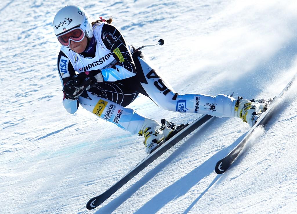 SKI ALPIN - FIS WC Garmisch Partenkirchen, Abfahrt, Damen