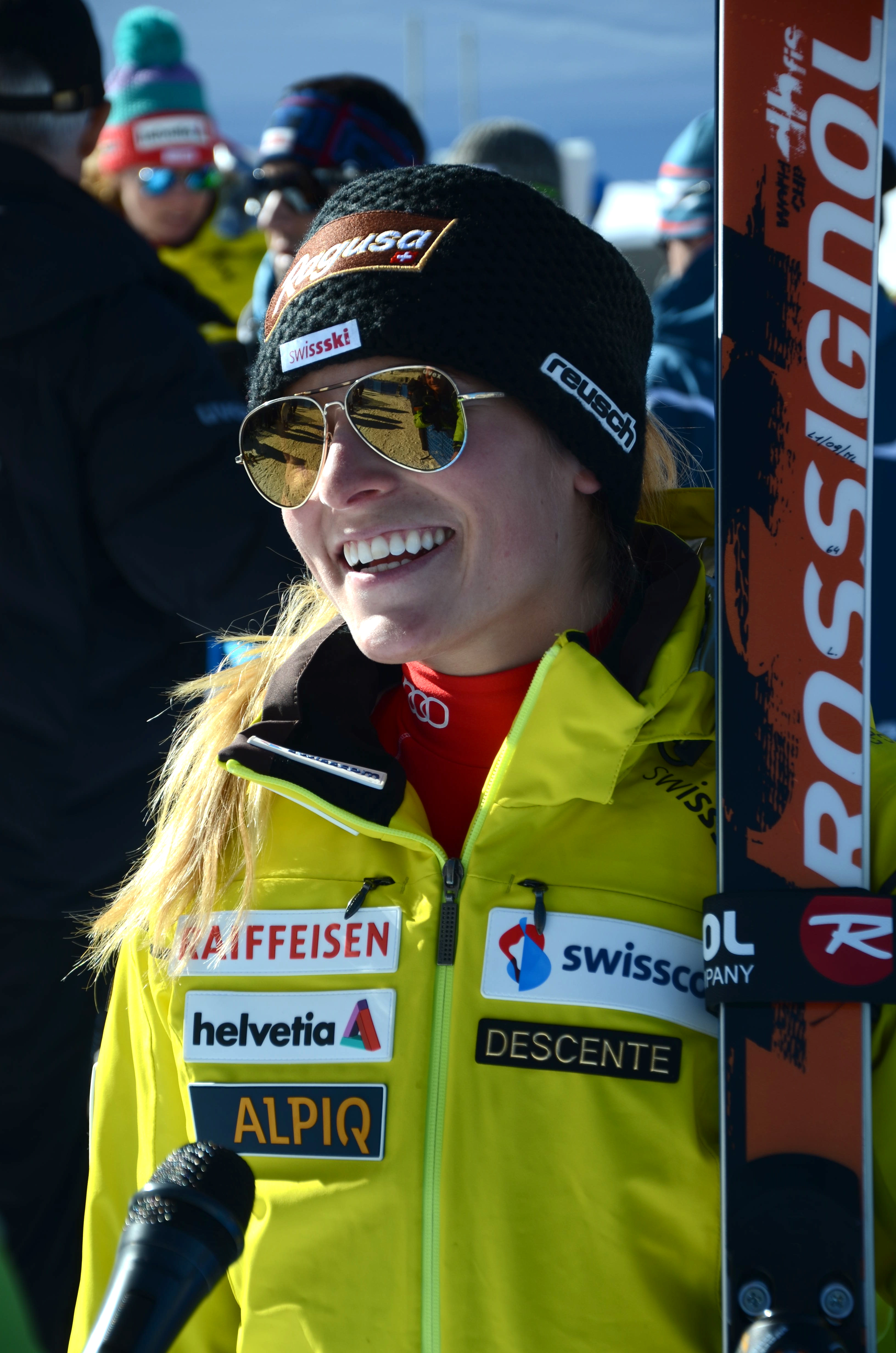 gut fastest in first training run on raptor skiracing