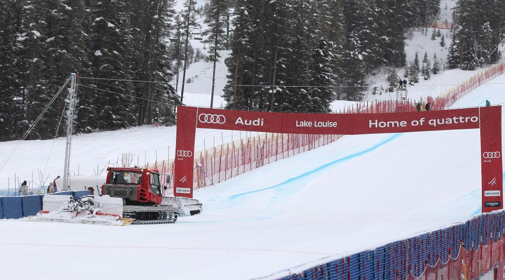 Lake Louise race venue in 2012 (GEPA/Christopher Kelemen)