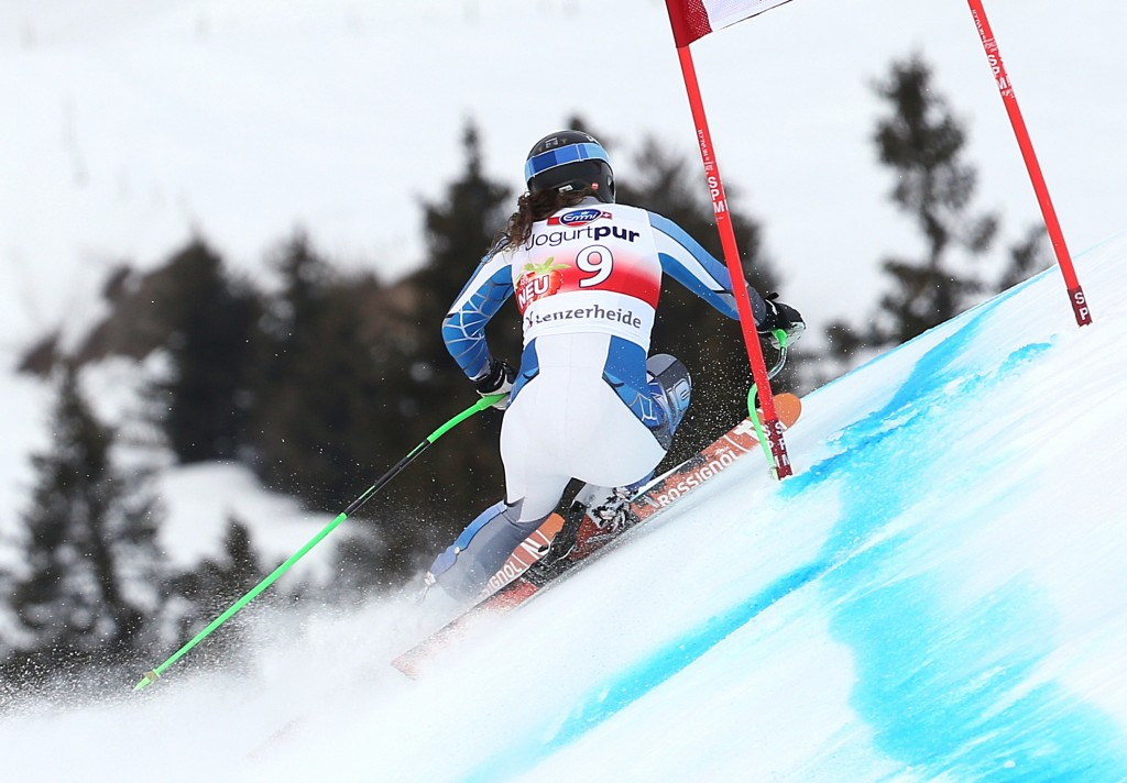 Stacey Cook at last season's World Cup Finals (GEPA/Wolfgang Grebien)