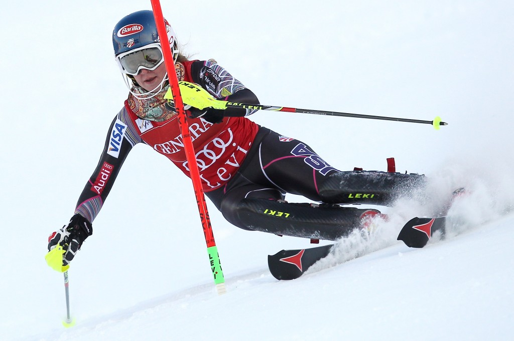 Shiffrin for the win in Levi (credit: GEPA/Christopher Kelemen)