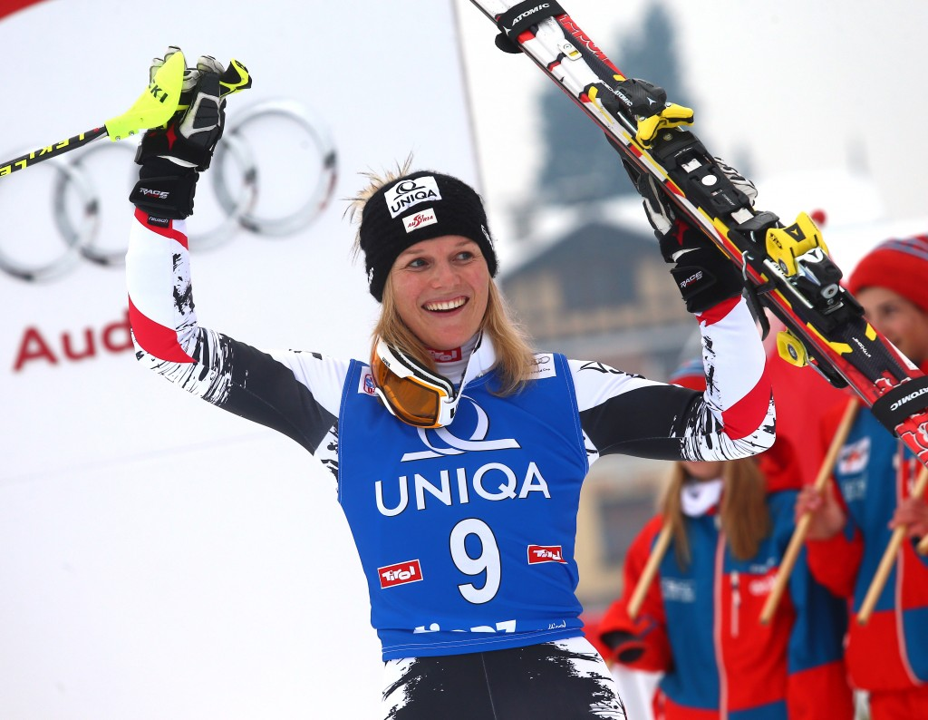 Marlies Schild makes history in Lienz (GEPA/Felix Roittner)