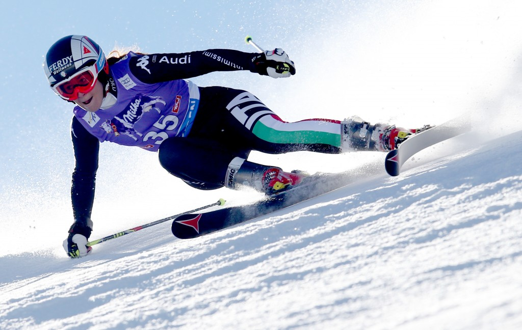 Sofia Goggia in the Soelden opener (GEPA/Andreas Pranter)