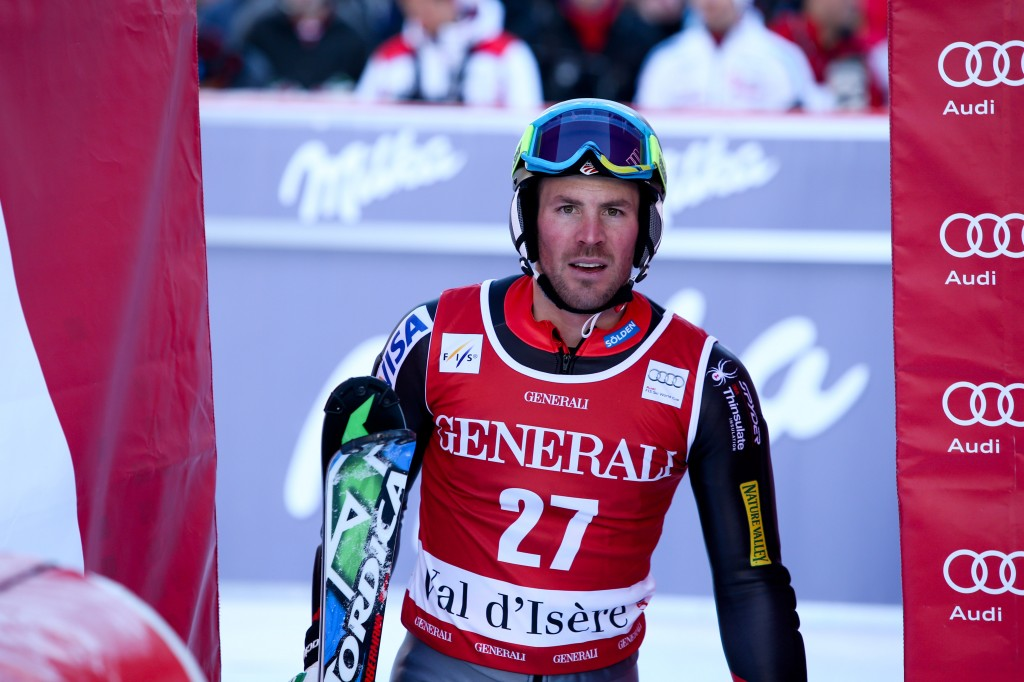 David Chodounsky in Val d'Isere (GEPA/Andreas Pranter)