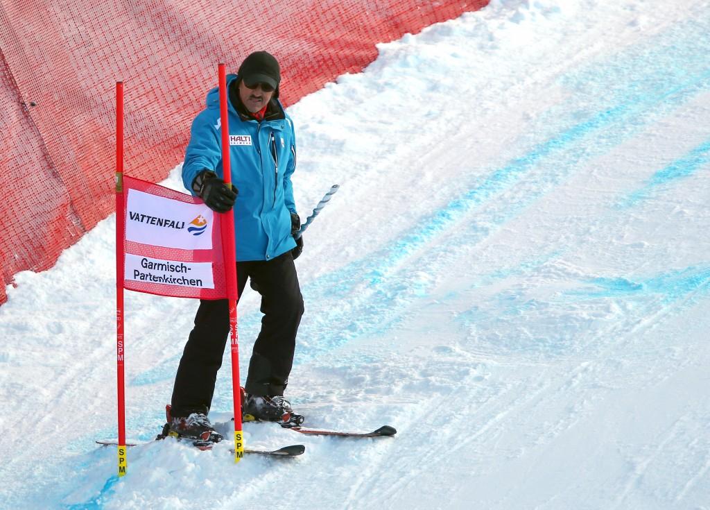 SKI ALPIN - FIS WC Garmisch Partenkirchen, Abfahrt, Damen, Training