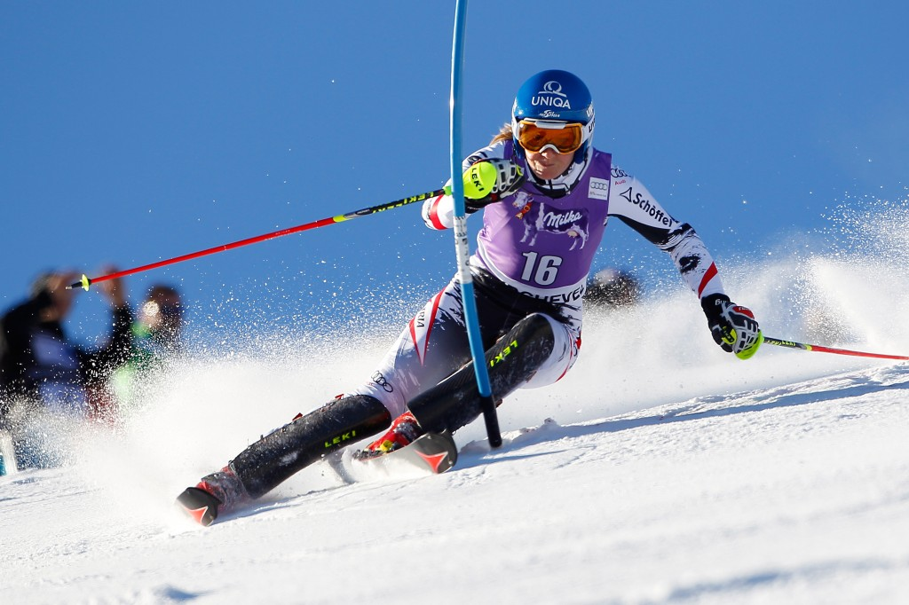 Marlies Schild in Courchevel (GEPA/Mathias Mandl)