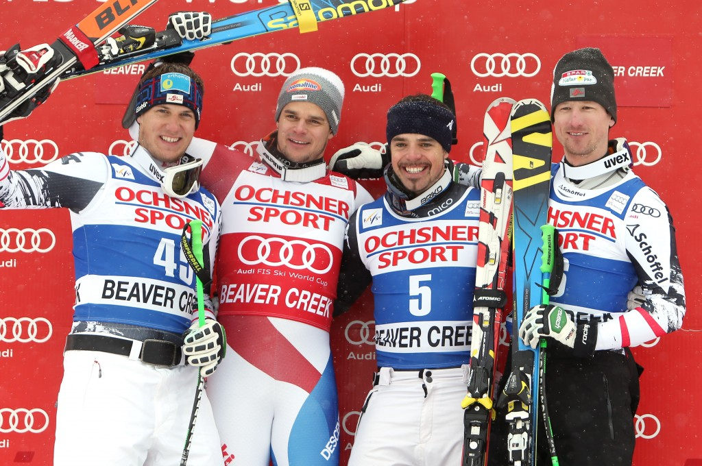 SKI ALPIN - FIS WC Beaver Creek, Super G, Herren