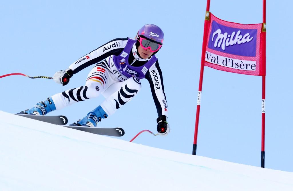 SKI ALPIN - FIS WC Val d Isere, Abfahrt, Damen, Training
