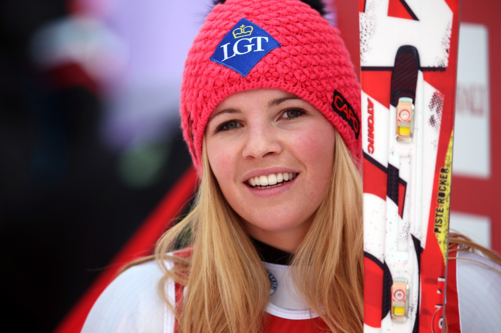 Tina Weirather in Val d'Isere (GEPA/Andreas Pranter)