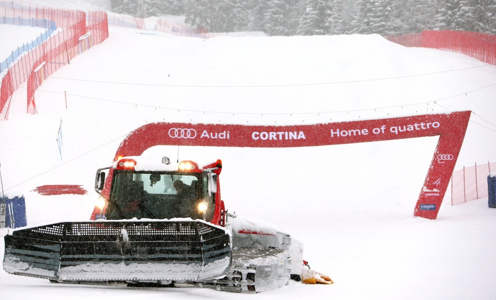 The Cortina downhill track (GEPA/Thomas Bachun)