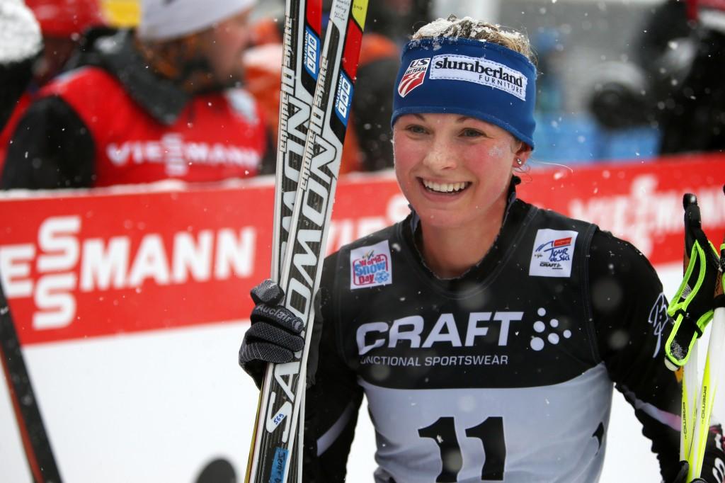 Olympian Jessie Diggins (GEPA/Andreas Pranter)