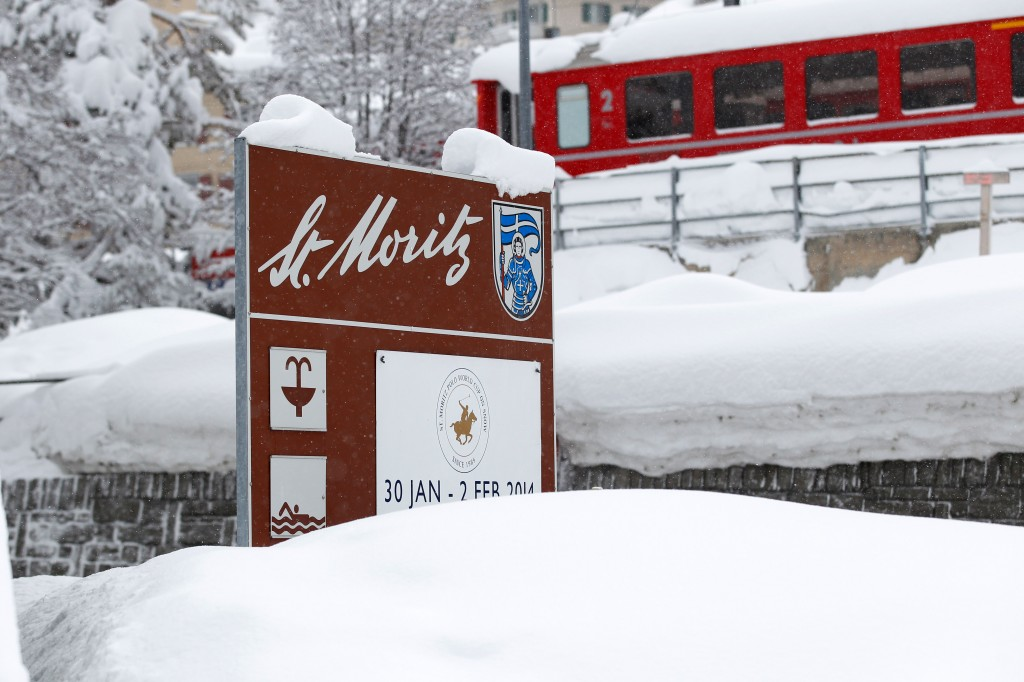 St. Moritz this morning (GEPA/Harald Steiner)