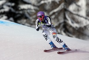 Maria Hoefl-Riesch training in Cortina. (GEPA)