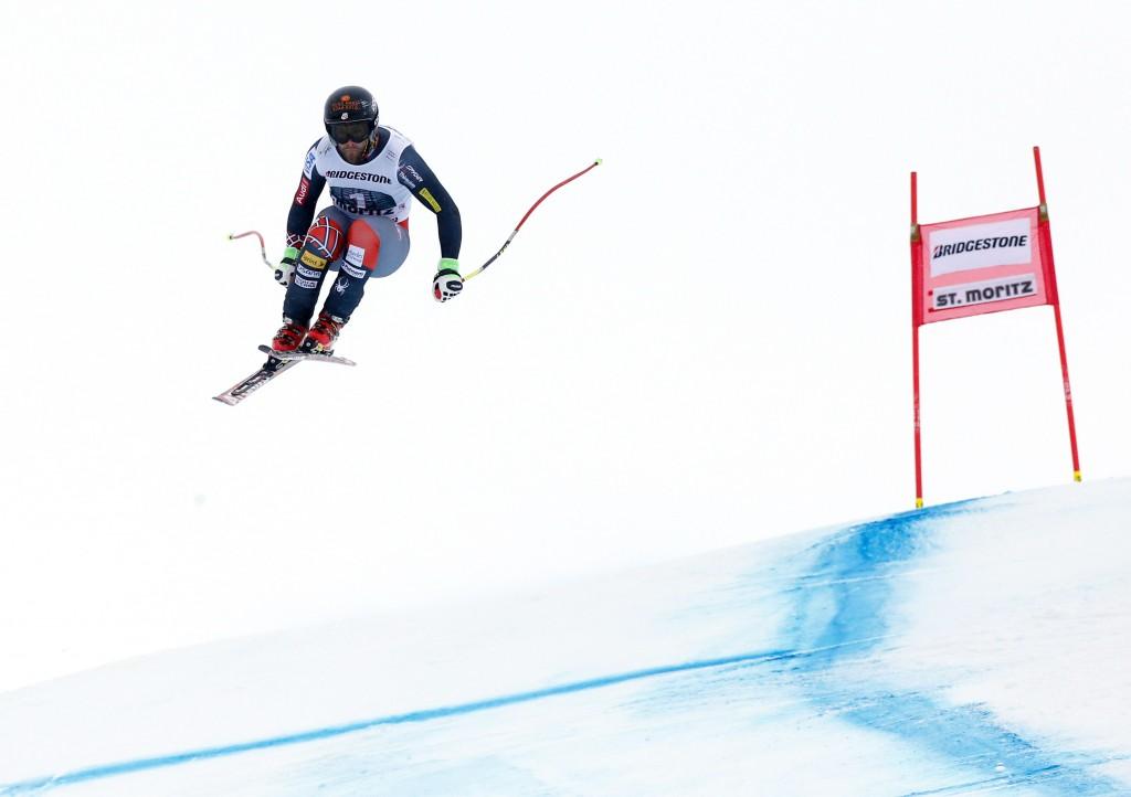 Travis Ganong in St. Moritz (GEPA/Wolfgang Grebien)