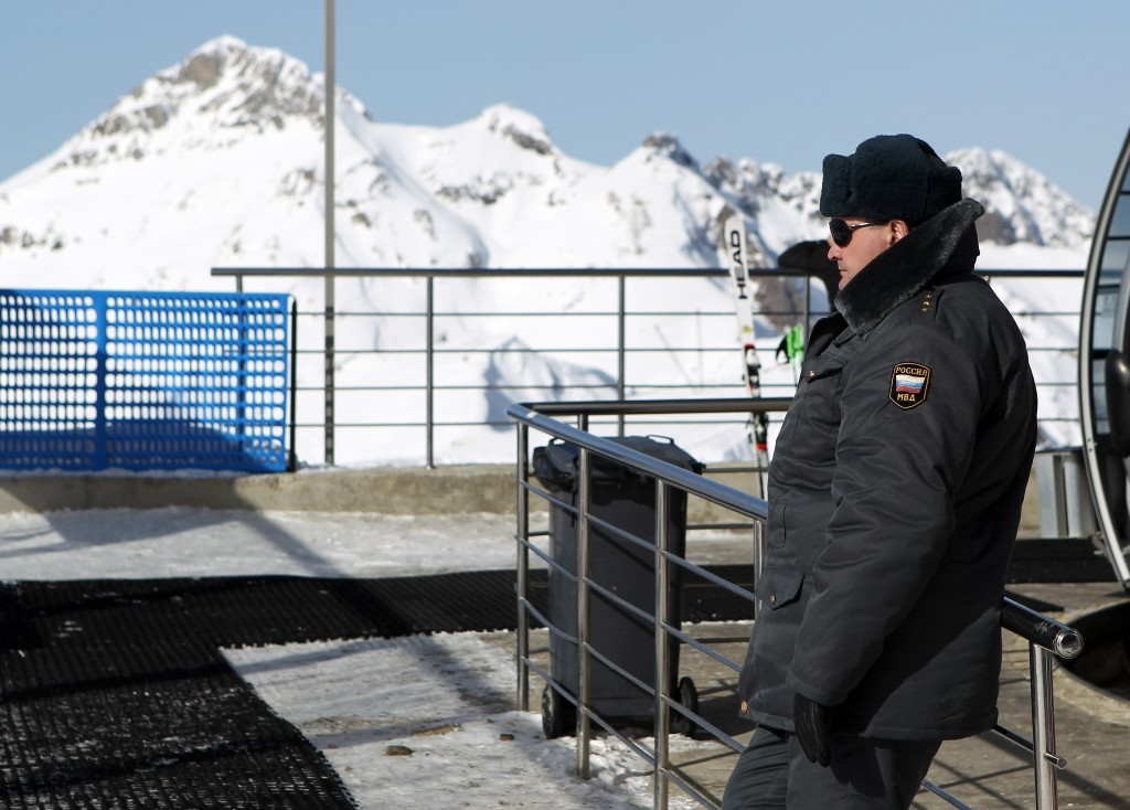 Security in Sochi (GEPA/Christian Walgram)
