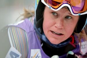 Alice Mckennis in Val d'Isere. (GEPA)