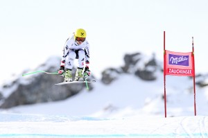 Anna Fenninger fastest in first training run at (GEPA/Daniel Goetzhaber)