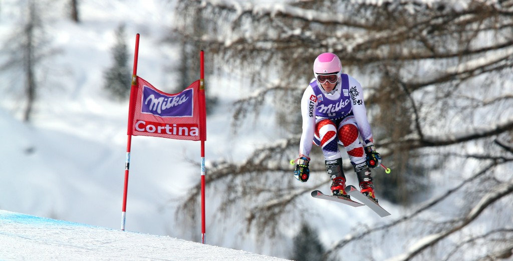 Chemmy Alcott in Cortina (GEPA/Thomas Bachun)