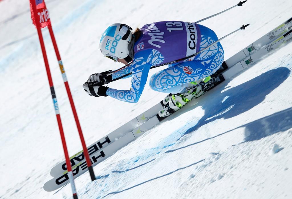 Julia Mancuso in Cortina (GEPA/Harald Steiner)
