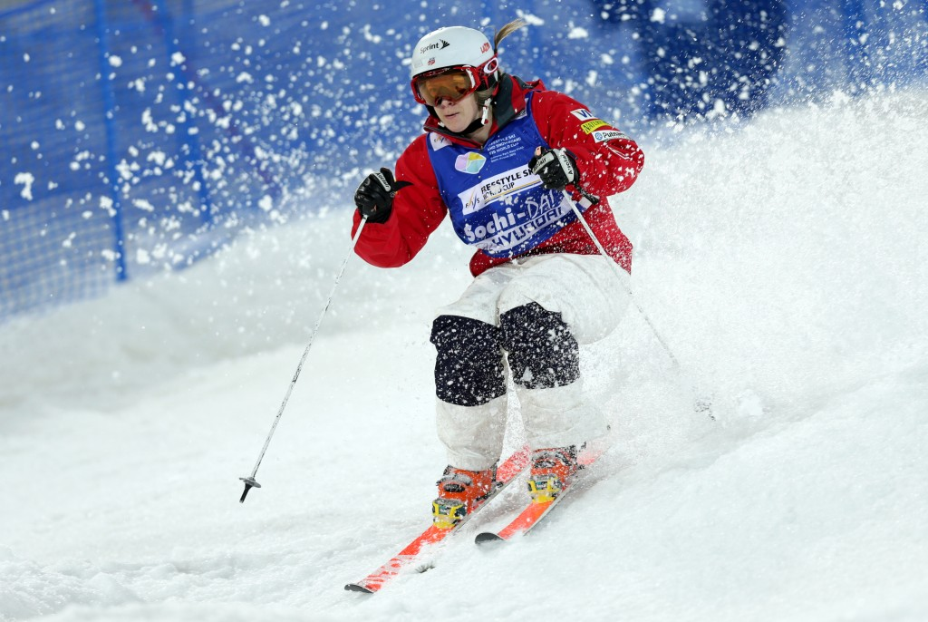Hannah Kearney at the Sochi test World Cup (GEPA/Daniel Goetzhaber)