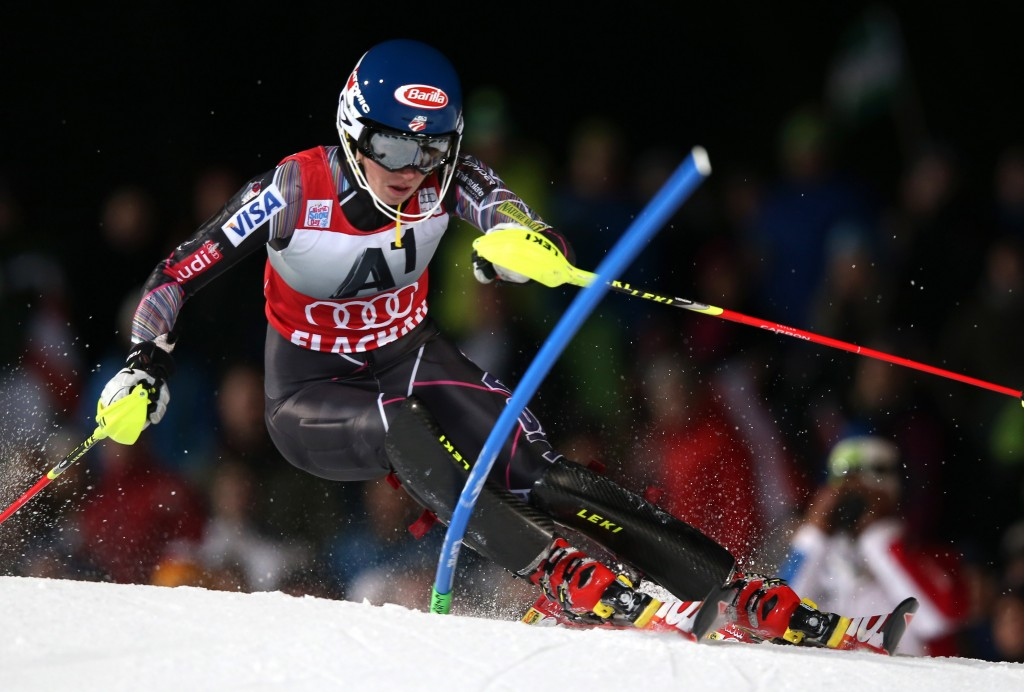 Mikaela Shiffrin is set for her Olympic debut in Sochi (GEPA/Christian Walgram)