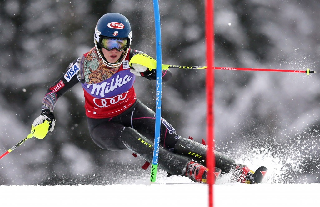 Shiffrin tackles adverse conditions in Bormio (GEPA/Christian Walgram)