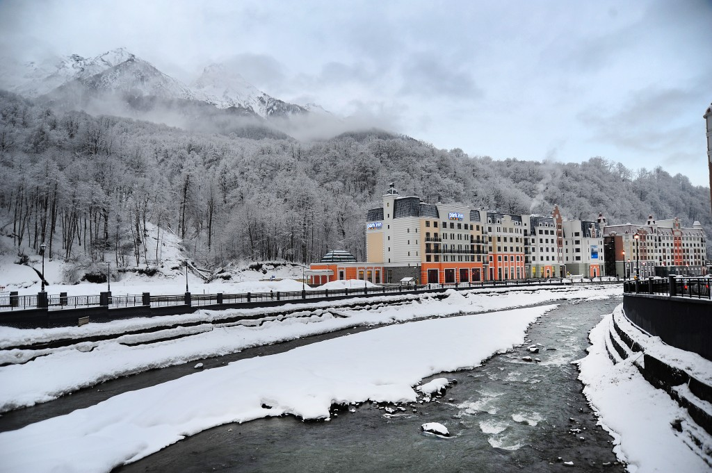 Rosa Khutor Ski Resort in Krasnaya Polyana (USSA/Tom Kelly)
