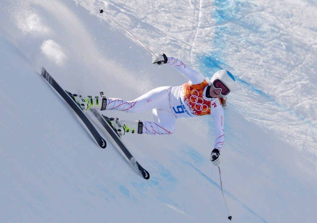 Julia Mancuso in Sochi (GEPA)