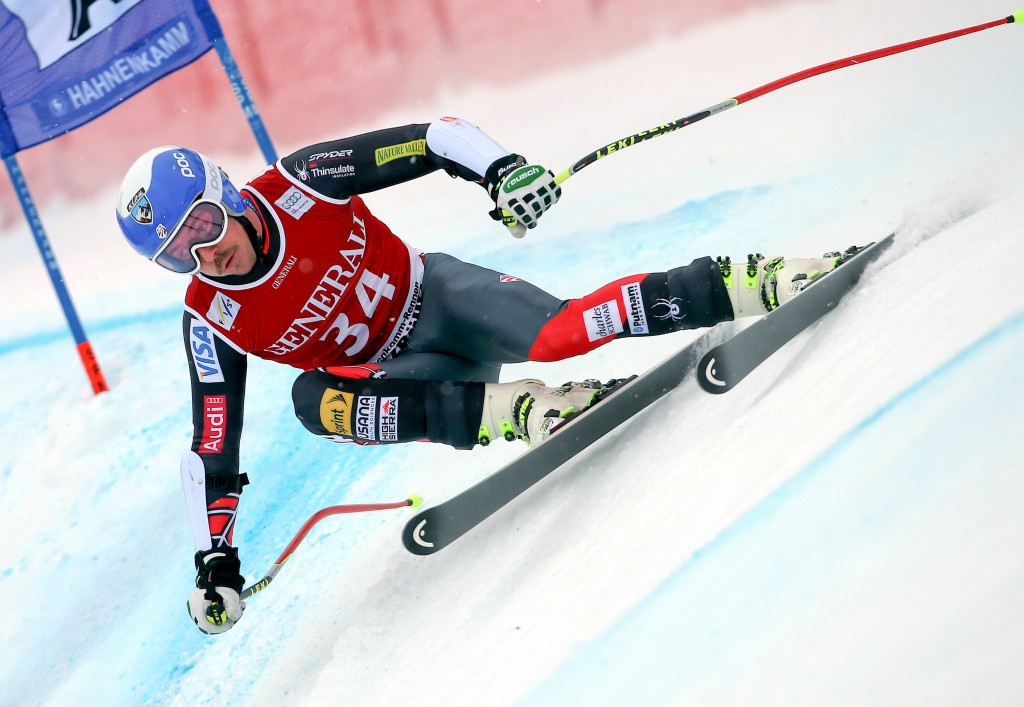 Jared Goldberg qualified for the Olympics in Kitzbuehel (GEPA/Mario Kneisl)