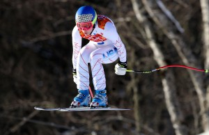 Laurenne Ross trains in Sochi, leads Americans. (GEPA)