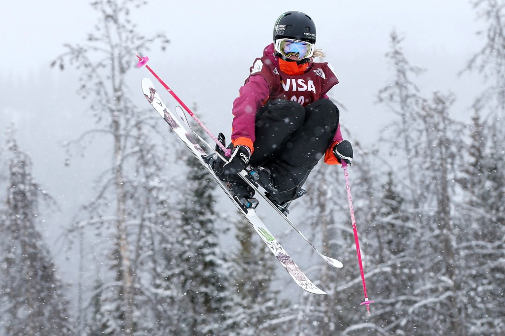 Maggie Voisin in World Cup action (GEPA/Greg M. Cooper)