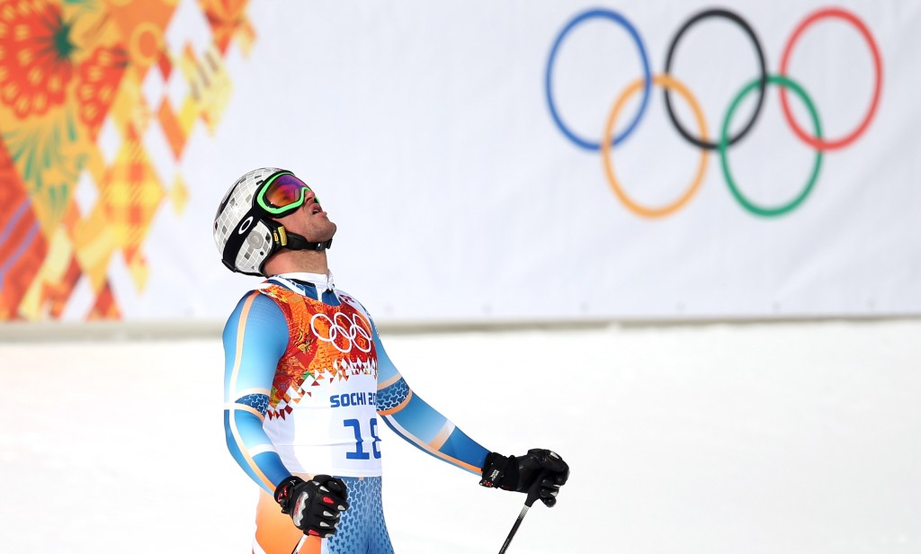 Aksel Lund Svindal in the Sochi Olympics (GEPA/Christian Walgram)