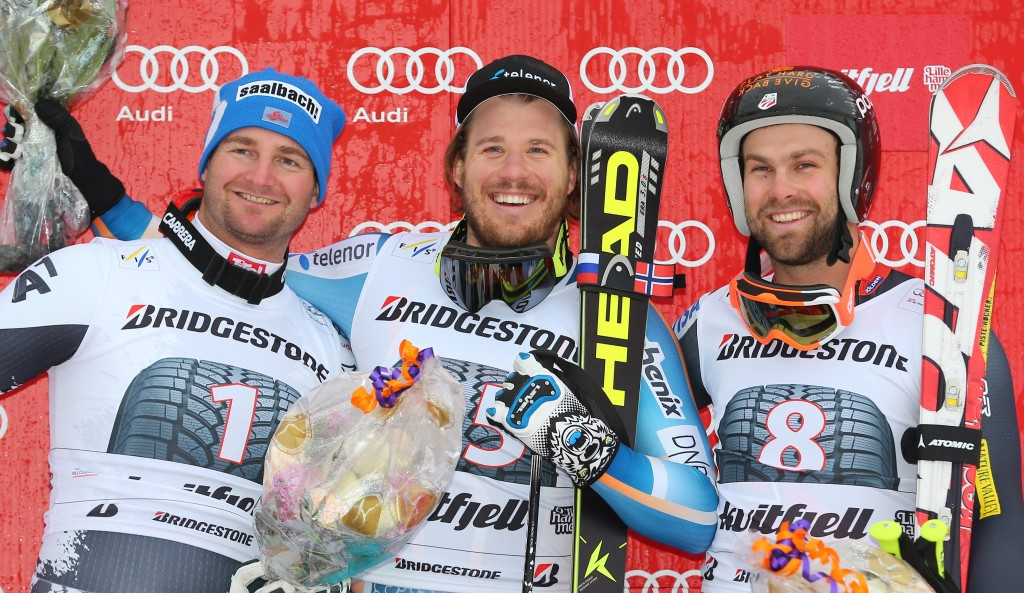 The podium in Kvitfjell (GEPA/Thomas Bachun)