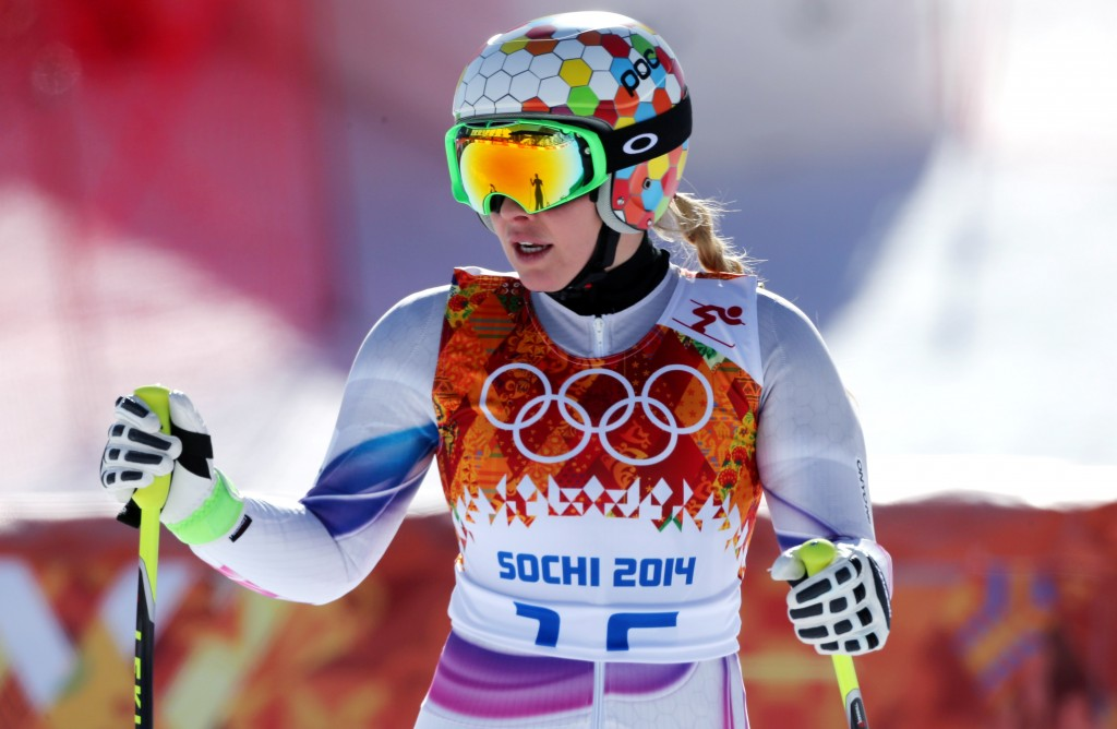 Tina Weirather at the Sochi Olympics (GEPA/Mario Kneisl)