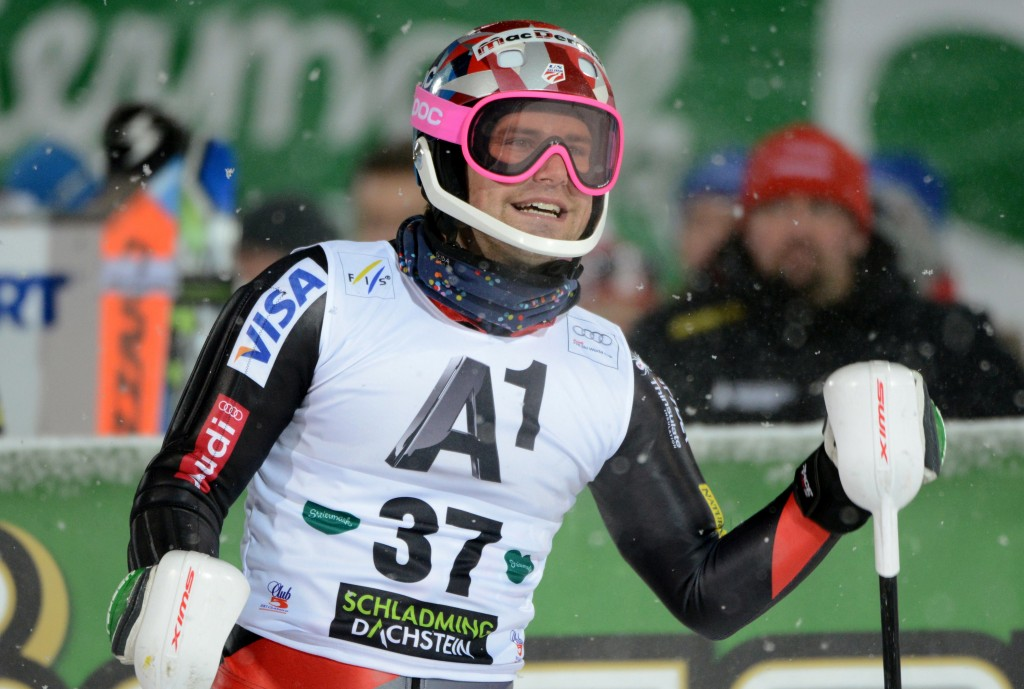 Kasper at the Schladming World Cup (GEPA/Michael Riedler)