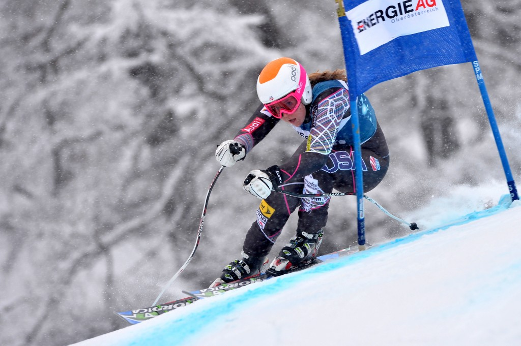 Katie Ryan of the U.S. Ski Team (GEPA/Florian Ertl)