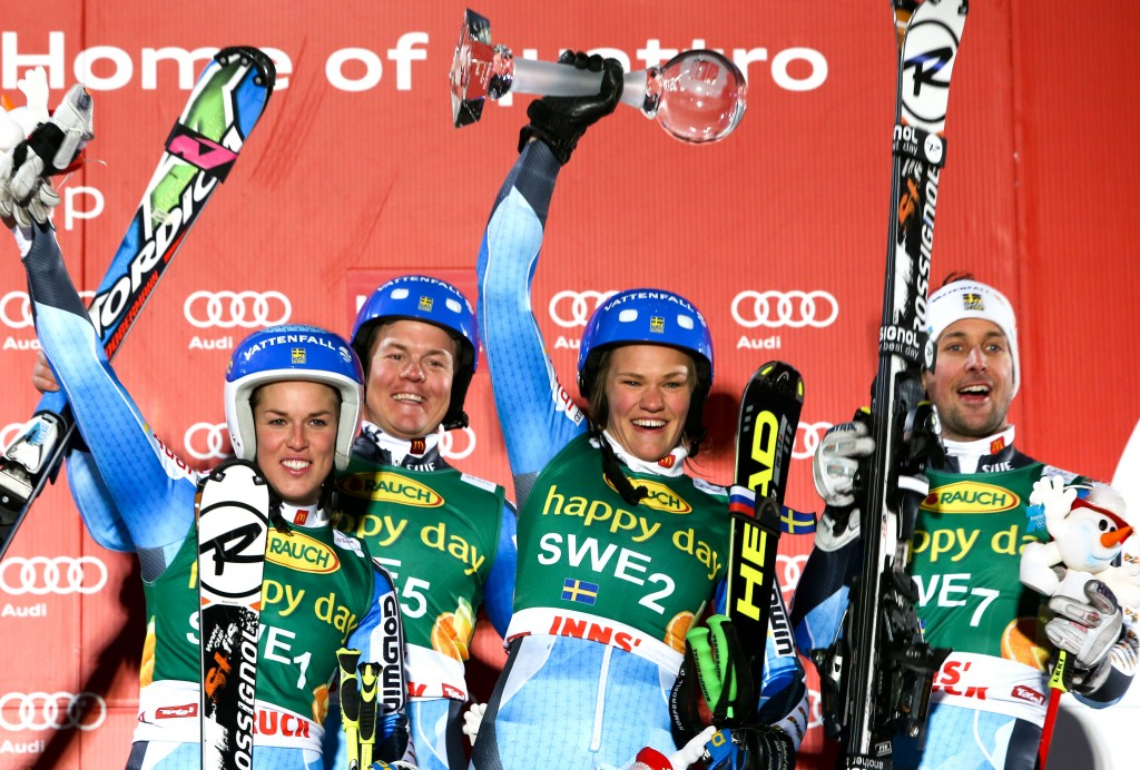 Team Sweden in Innsbruck (GEPA/Andreas Pranter)