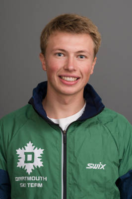 Torin Tucker of the Dartmouth Ski Team (Ruff Patterson)
