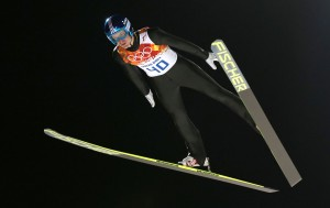 Austria's Michael Hayboeck had the longest qualifying jump. (GEPA)