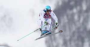 Jean Frederic Chapuis won the gold in ski cross and led a French podium sweep. (GEPA/Daniel Goetzhaber)