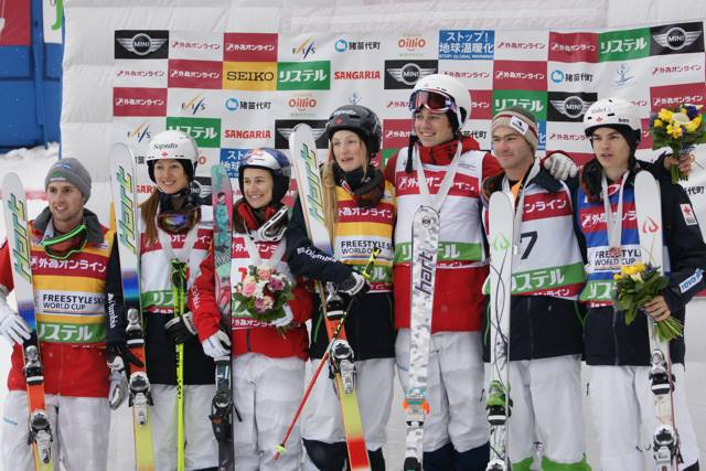 Combined men's and women's podiums (USST)