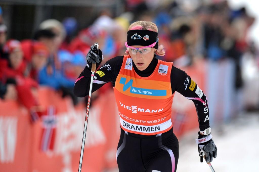 Kikkan Randall in Drammen (GEPA/Florian Ertl)
