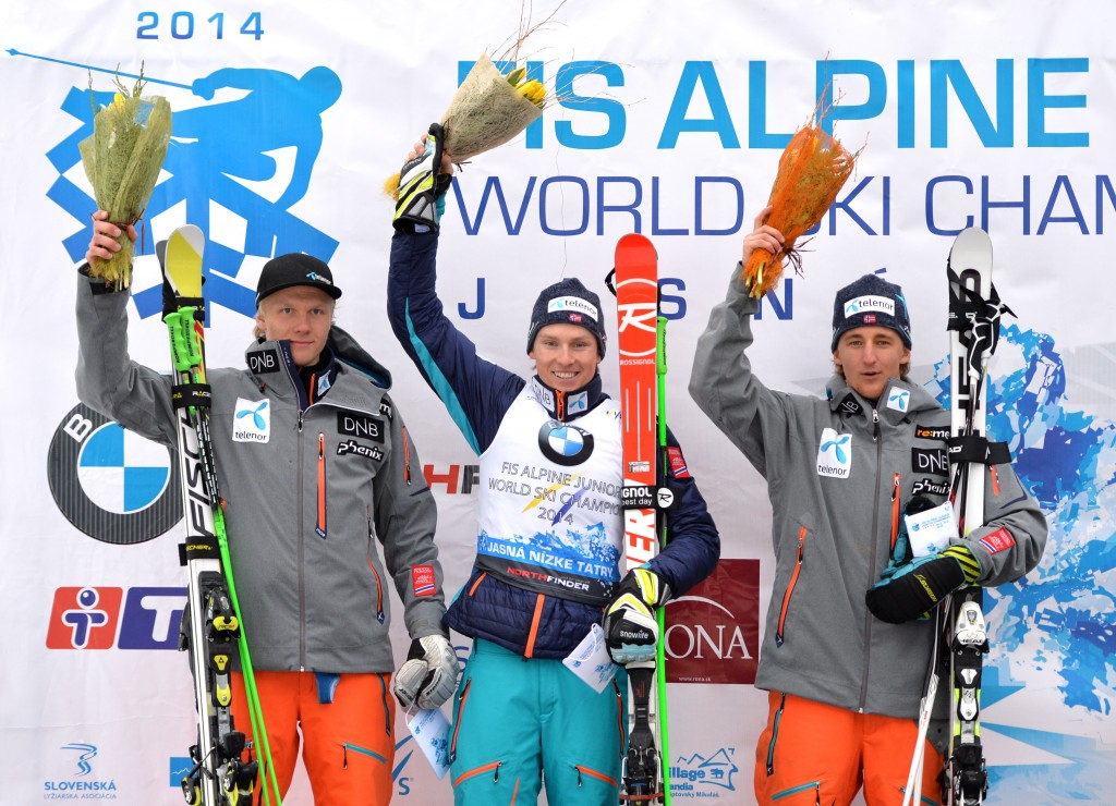 The Norwegian podium sweep (GEPA/Martin Hoermandinger)