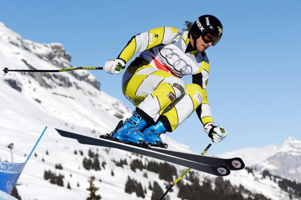 Nik Zoricic in the Les Contamines World Cup in 2012. GEPA/Oliver Lerch