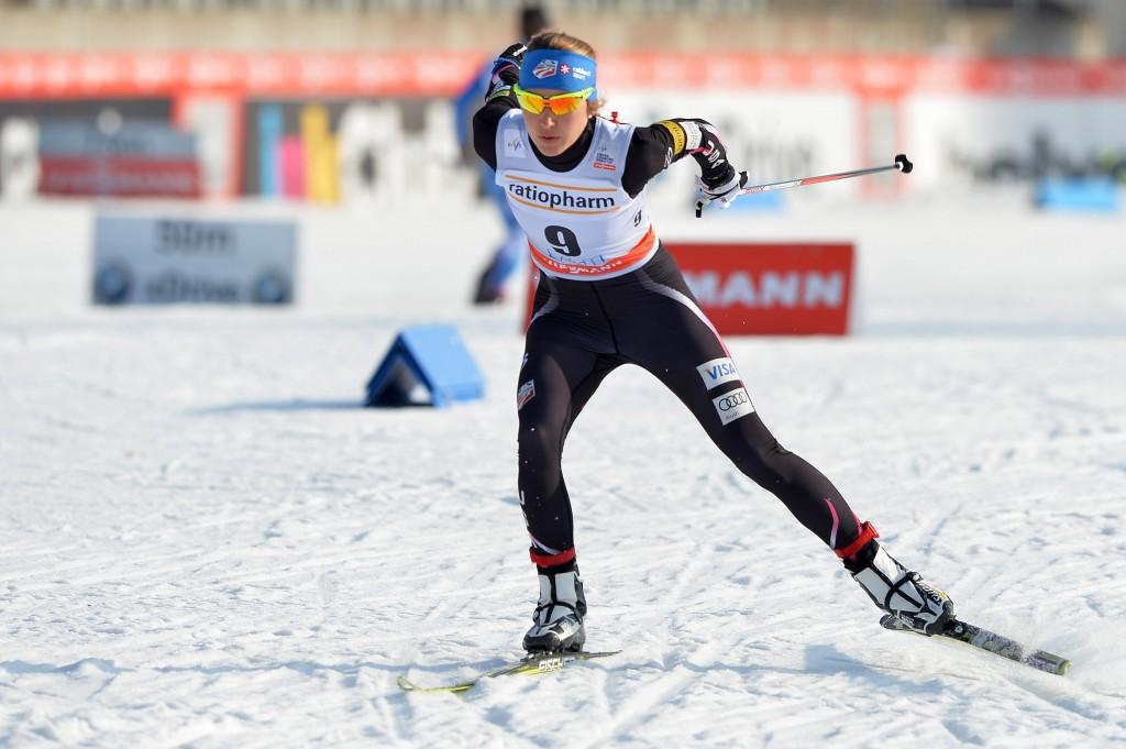 Sophie Caldwell in Finland (GEPA/Florian Ertl)