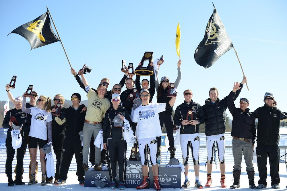 The 2013 national champion University of Colorado Buffaloes (Cory Ransom)