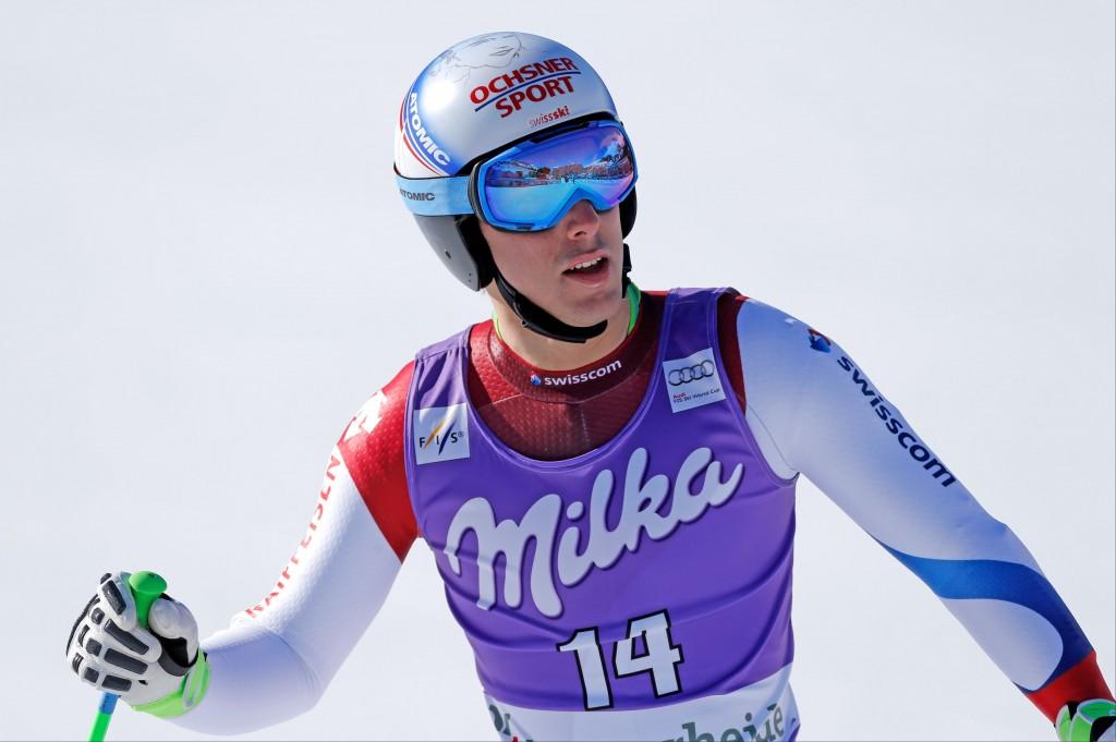 Carlo Janka at World Cup Finals. GEPA/Wolfgang Grebien