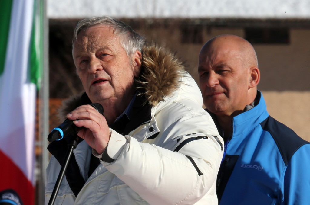 FIS President Gian Franco Kasper in 2013. GEPA/Andreas Pranter