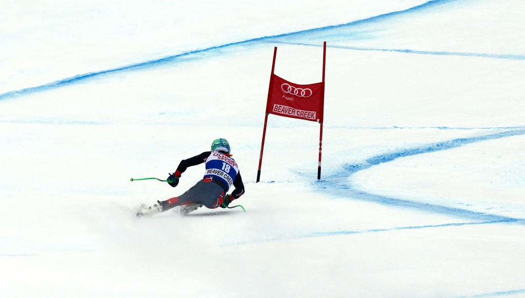 Ted Ligety racing SG in Beaver Creek in 2013. GEPA/ Wolfgang Grebien