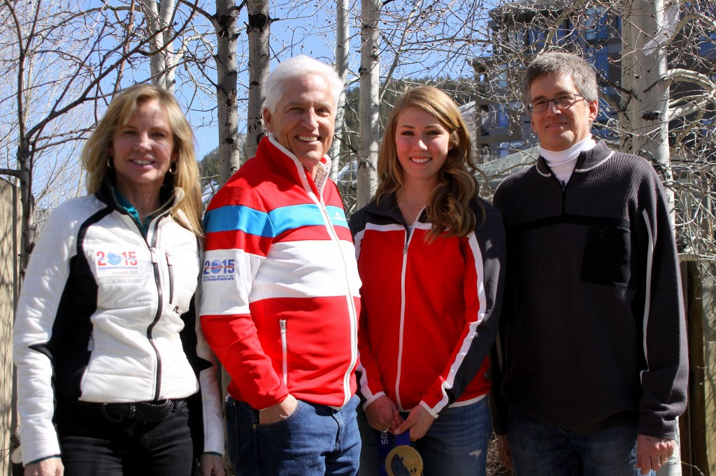 Ceil Folz, Andy Daly, Mikaela Shiffrin and Rich Carroll agree to a 1-year partnership. VVF